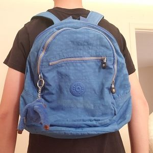 Kipling Blue Mini Backpack